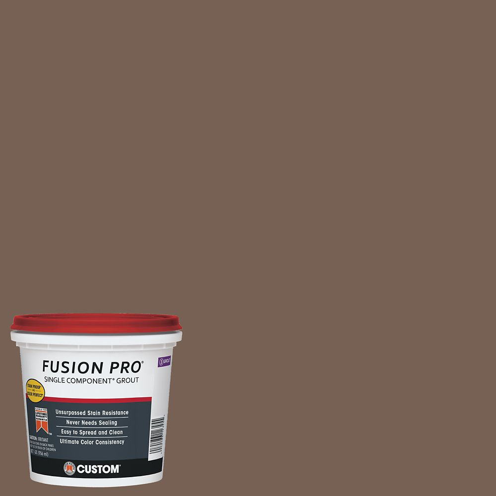 #52 Tobacoo Brown Fusion Pro 1 qt.