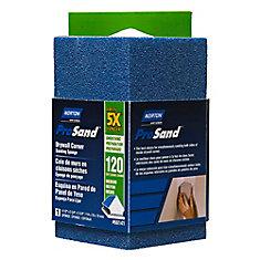 Prosand Corner Sanding Sponge 4-1/2 Inch X2-3/4 Inch X2-3/4 Inch  120-M
