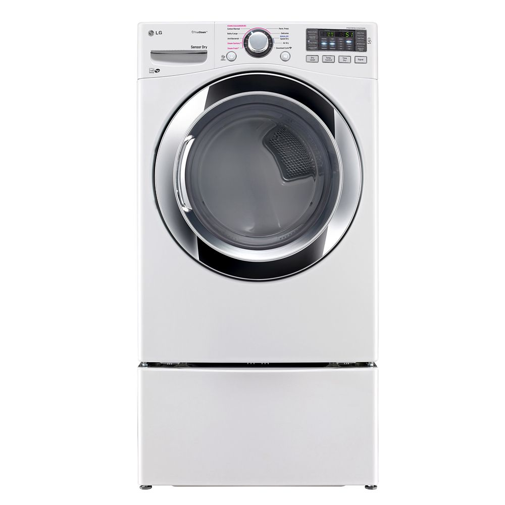 Large Lg Dryer ~ Lg cu ft ultra large capacity electric dryer with