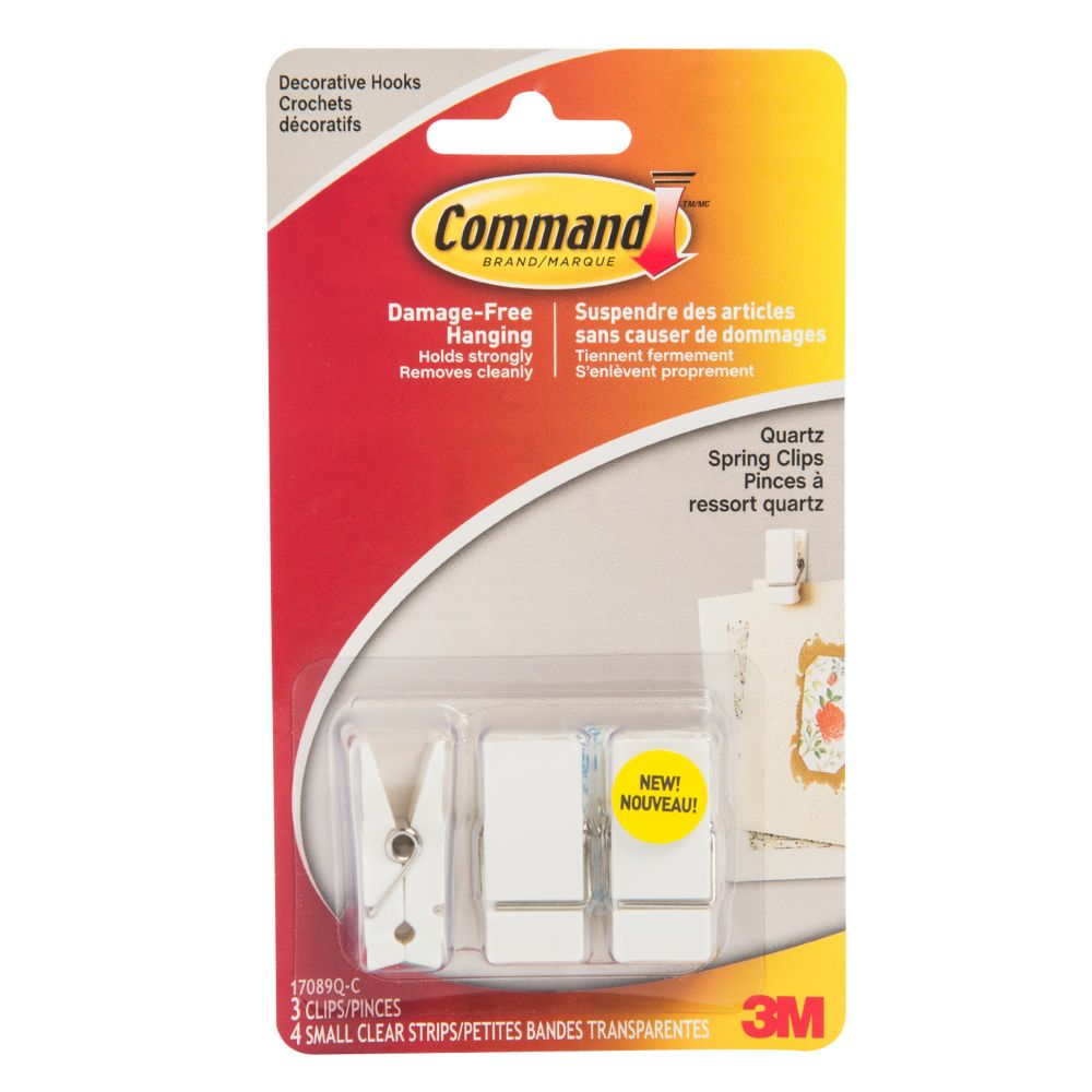 Command Small Spring Clip 17089q C Quartz The Home Depot Canada