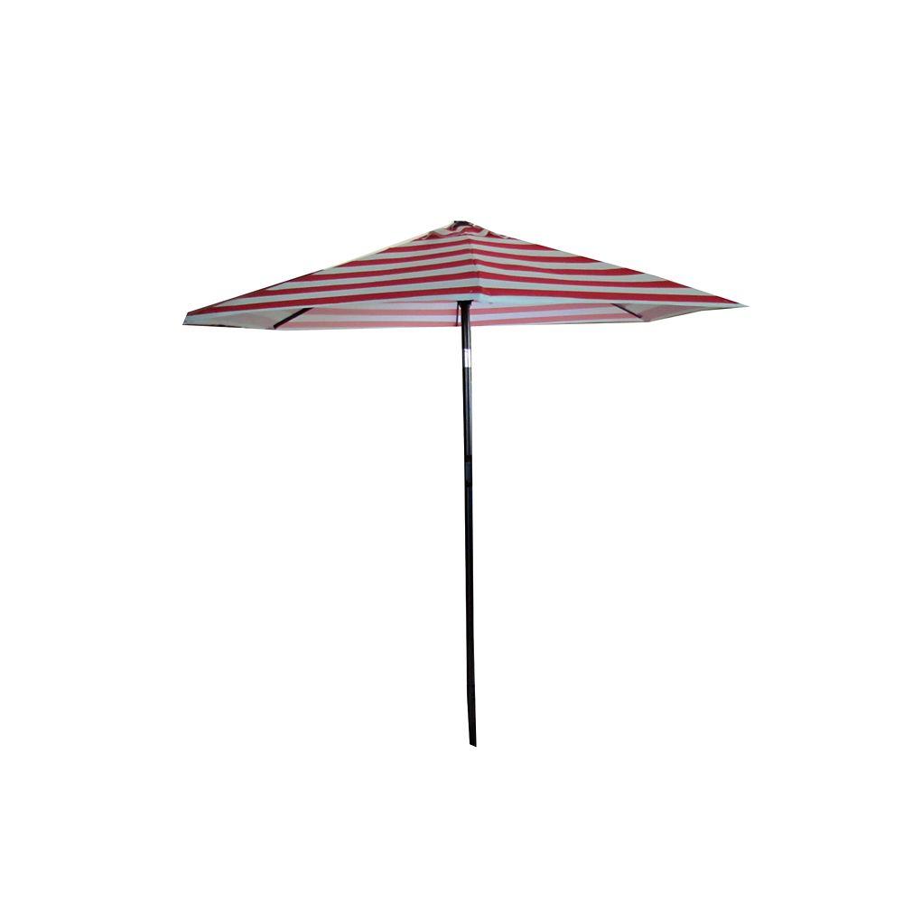 7.5 FT Steel Umbrella Red