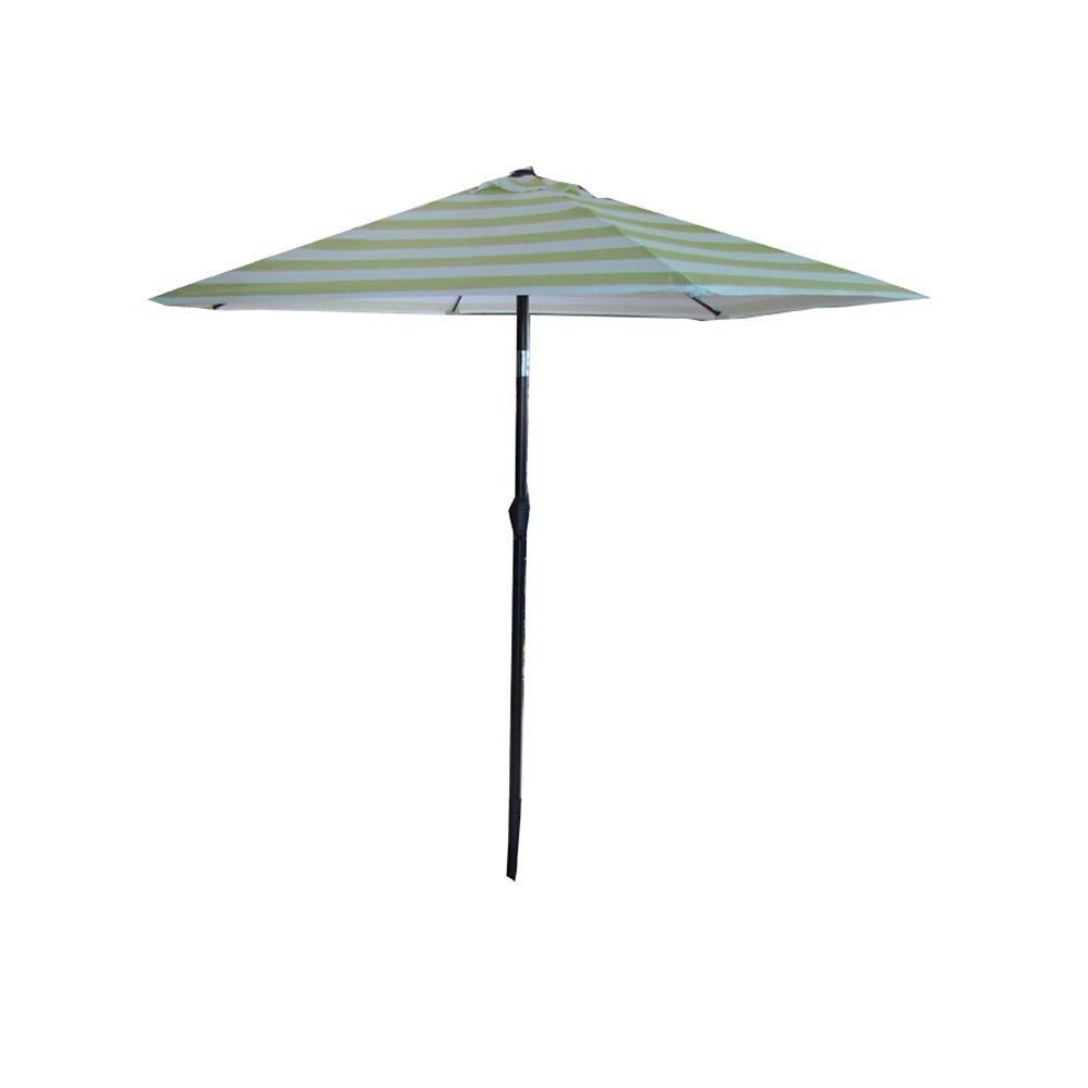 7.5 FT Steel Umbrella Lime