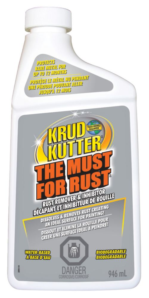 Krud Kutter The Must For Rust Remover Spray