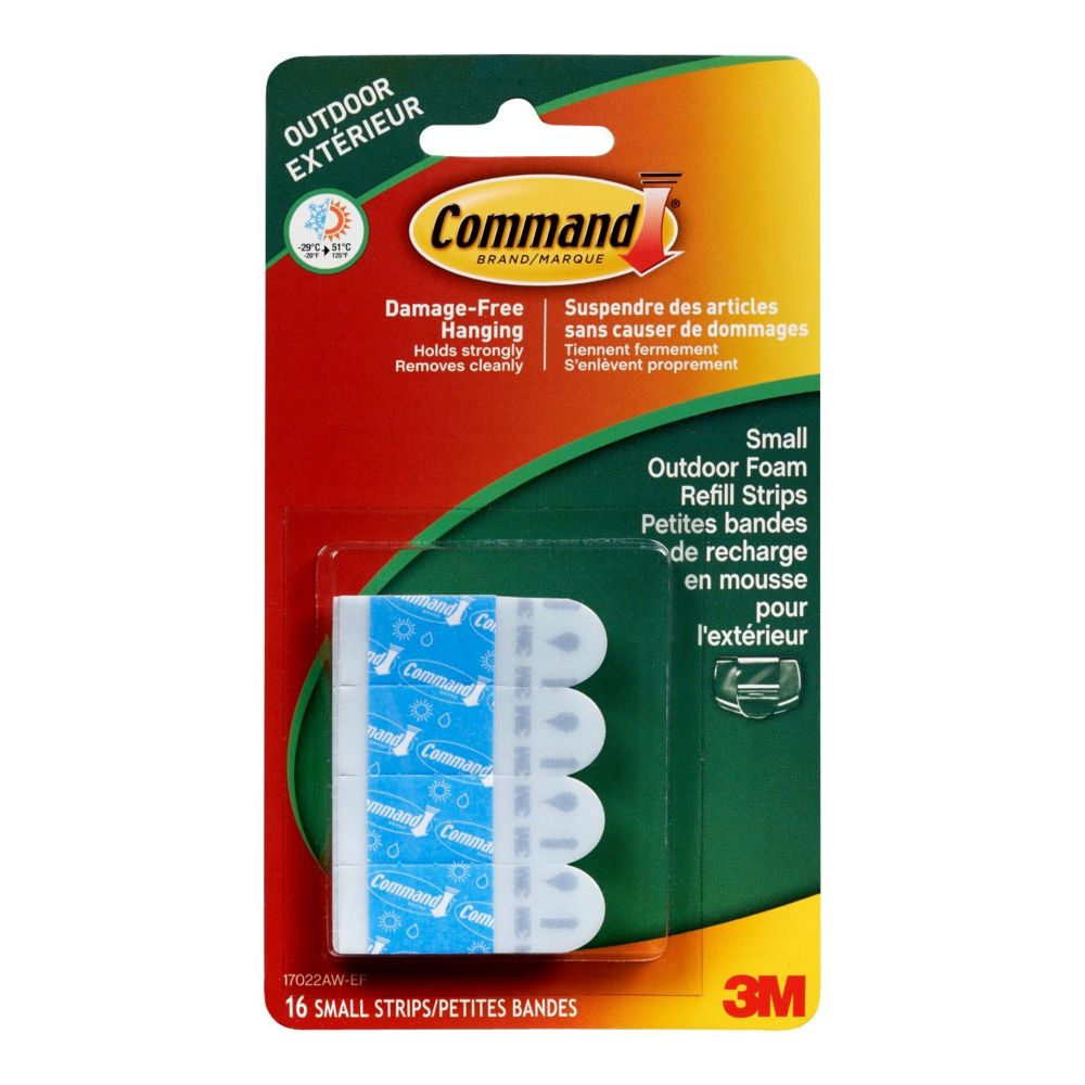 Command Outdoor Small Refills