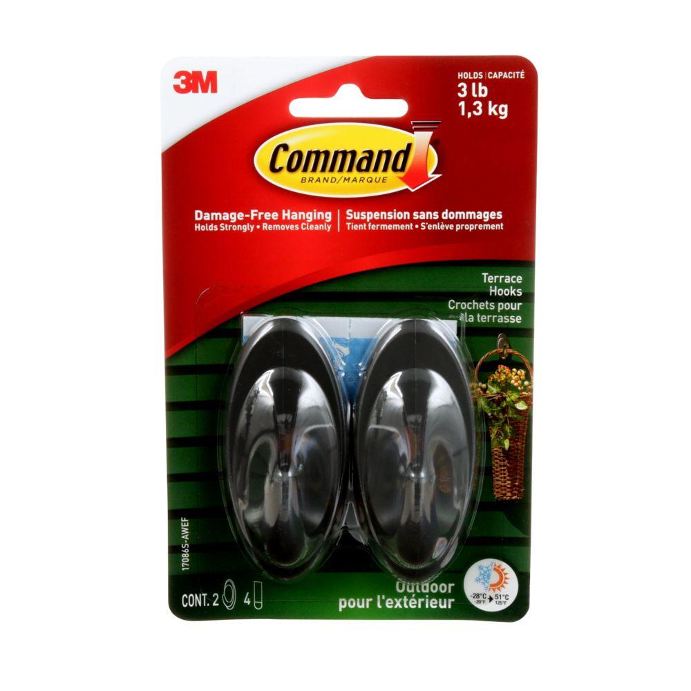 Command Outdoor Medium Slate