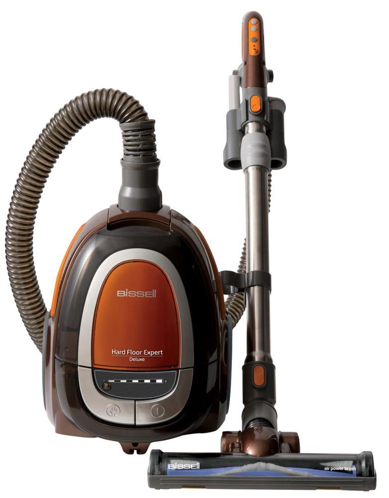Hard Floor Expert Deluxe Bagless Canister Vacuum