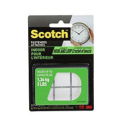 Scotch Indoor Fasteners, .875-inch X.875-inch