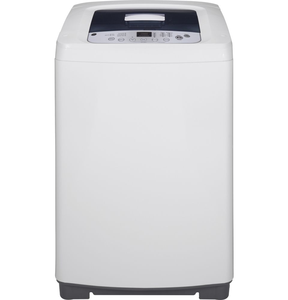 Argent avec blanc inoxydable laveuse à grande capacité en acier de 3,0 pi.cu. - WSLP1500HWW