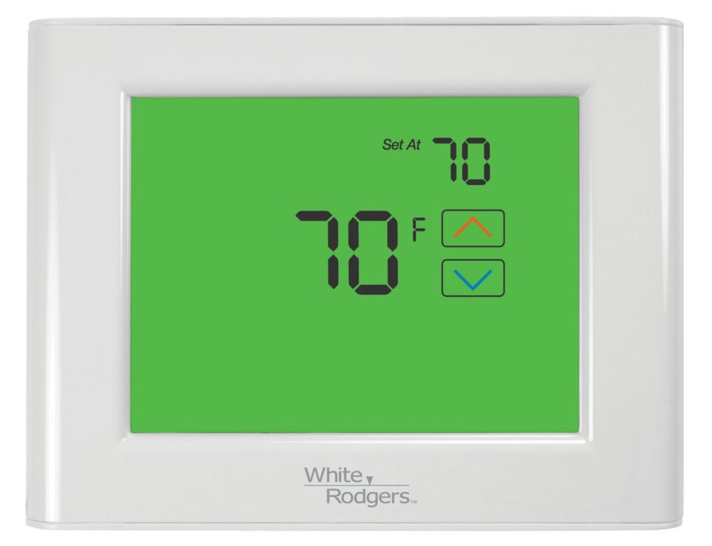 WR Touchscreen Universal 7-Day Programmable Thermostat W/ Home/Sleep/Away