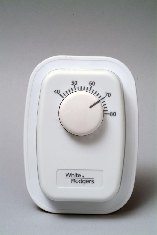 Thermostat WR chauffage seulement unipolaire pour plinthe 120/240V