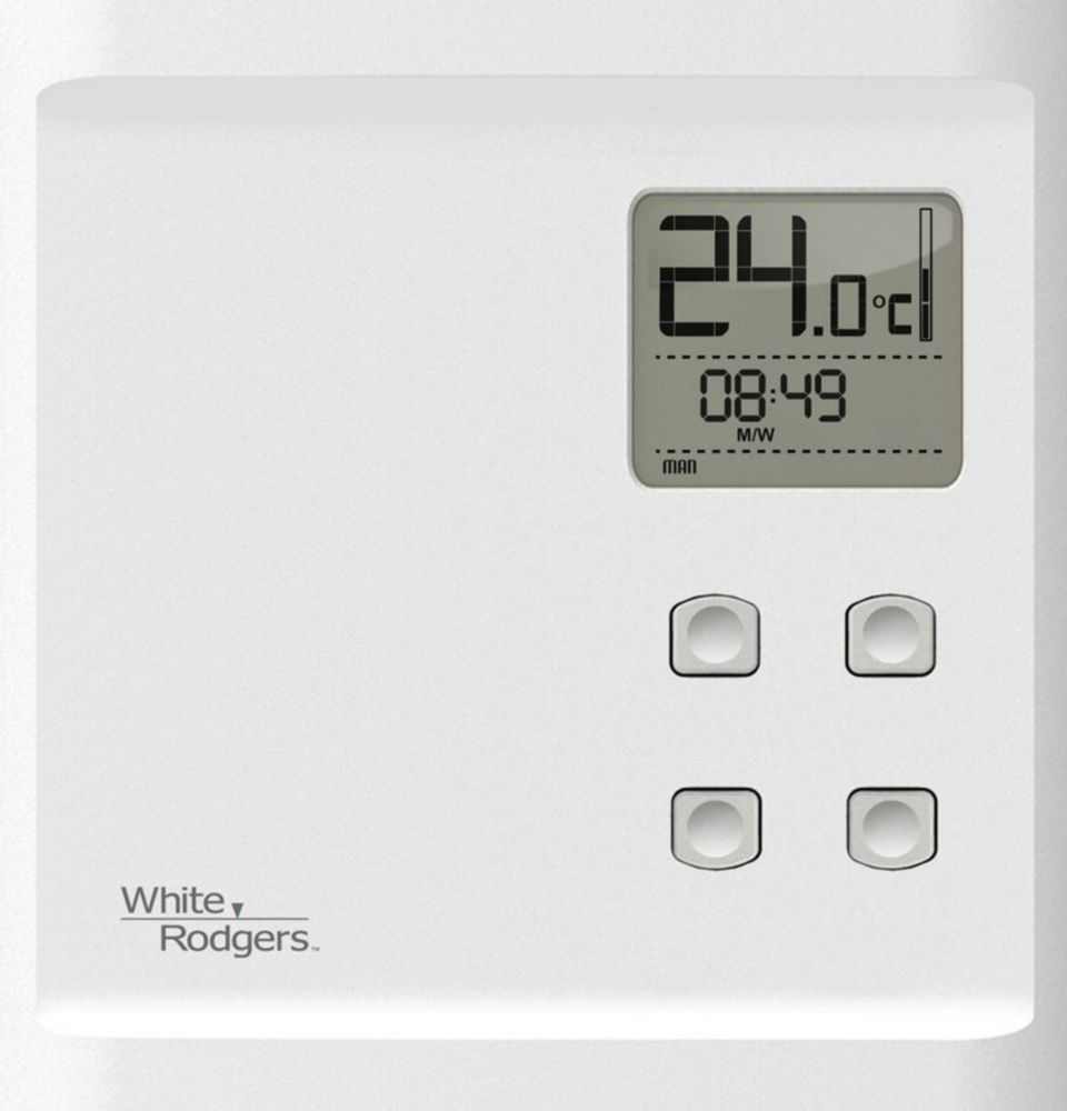 WR Heat Only Programmable Baseboard Dual Pole 240V/120V Thermostat