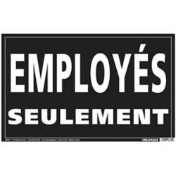 Hillman 12X19 EMPLOYES SEULEMENT(Employees Only)