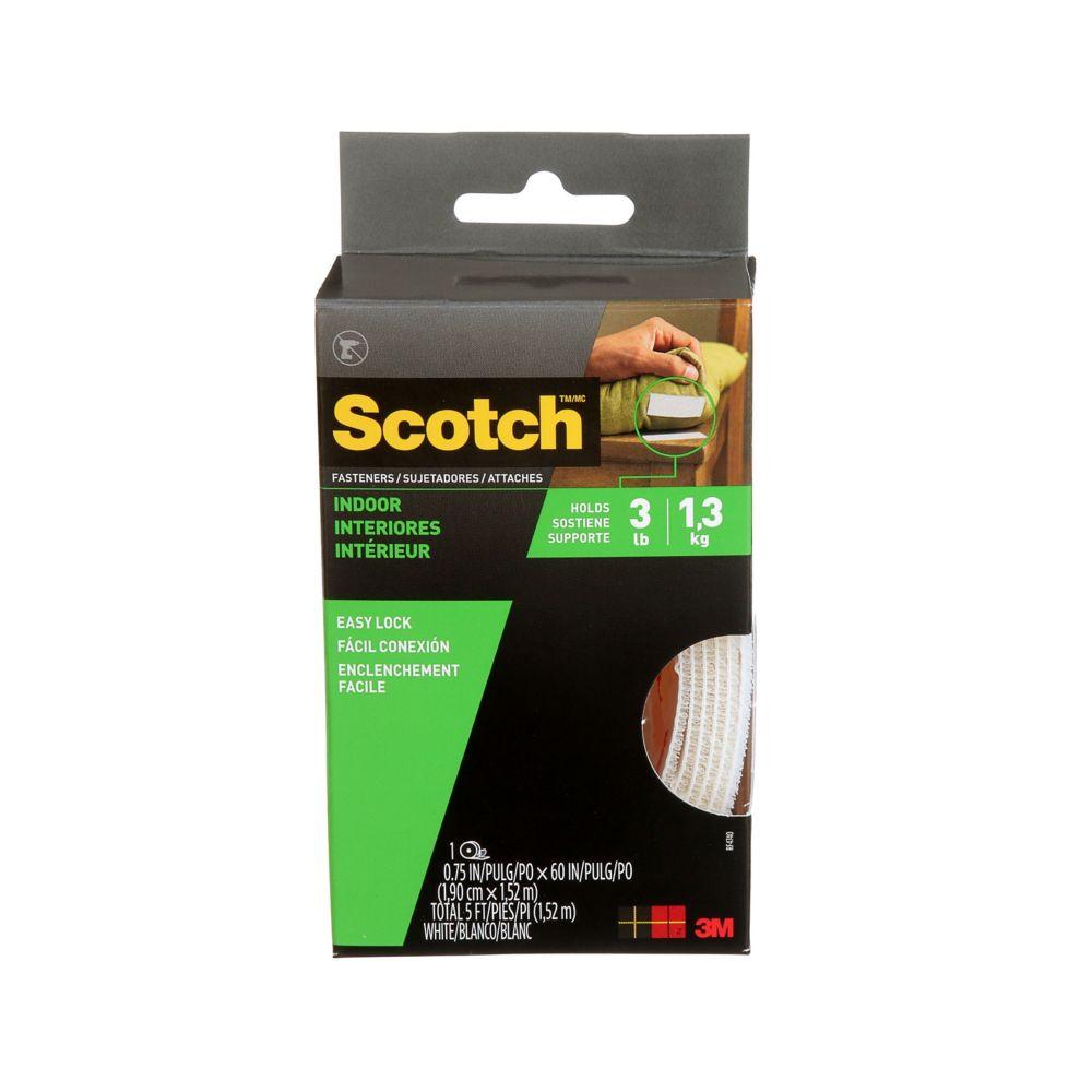Scotch Indoor Fasteners .75 Inch.  X 5 Feet