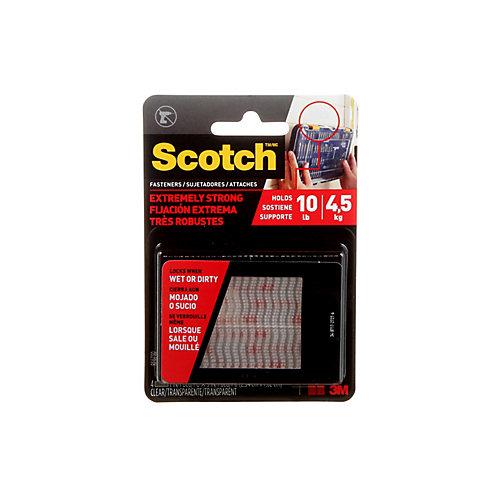 Scotch Extreme Fasteners, 1 Inch x 3 Inch