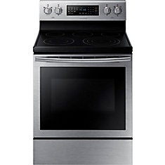 30-inch 5.9 cu. ft. Free-Standing Electric Range with True Convection in Stainless Steel