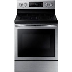 Samsung 30-inch 5.9 cu. ft. Free-Standing Electric Range with True Convection in Stainless Steel
