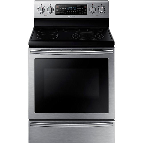 30-inch 5.9 cu. ft. Free-Standing Electric Range with Flex Duo Oven in Stainless Steel