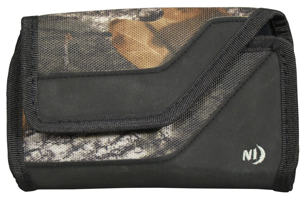 Pochette protectrice avec pince Cargo, horizontale, grande taille, Mossy Oak