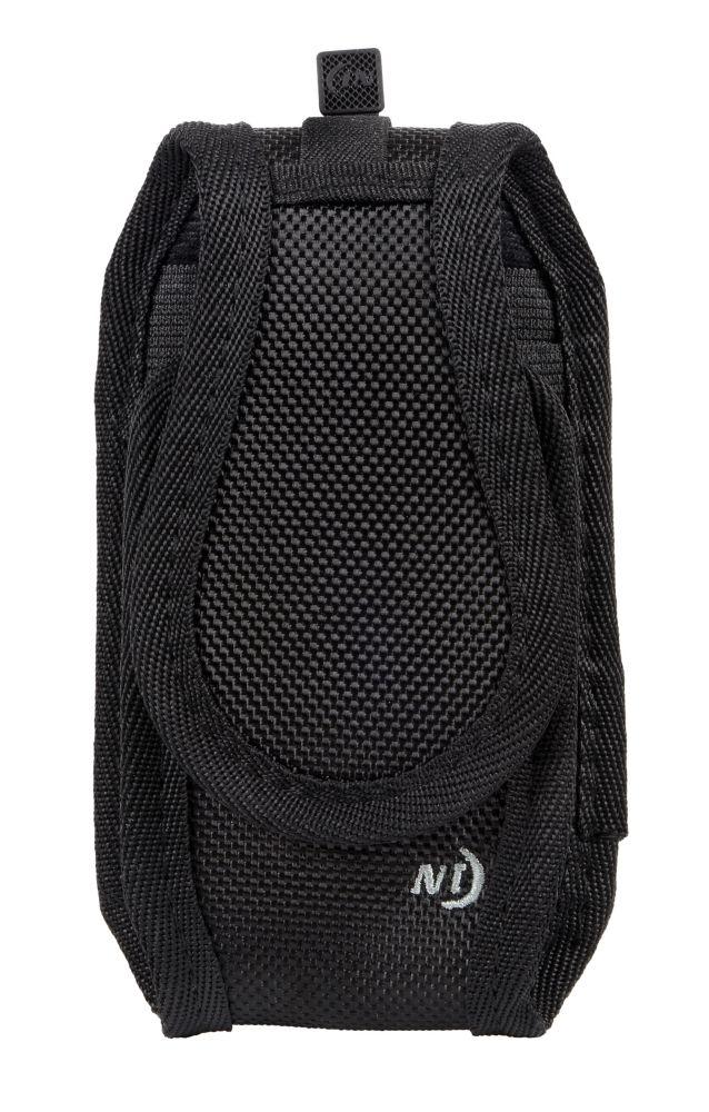 Pochette protectrice avec pince Cargo, verticale, grande taille, noire