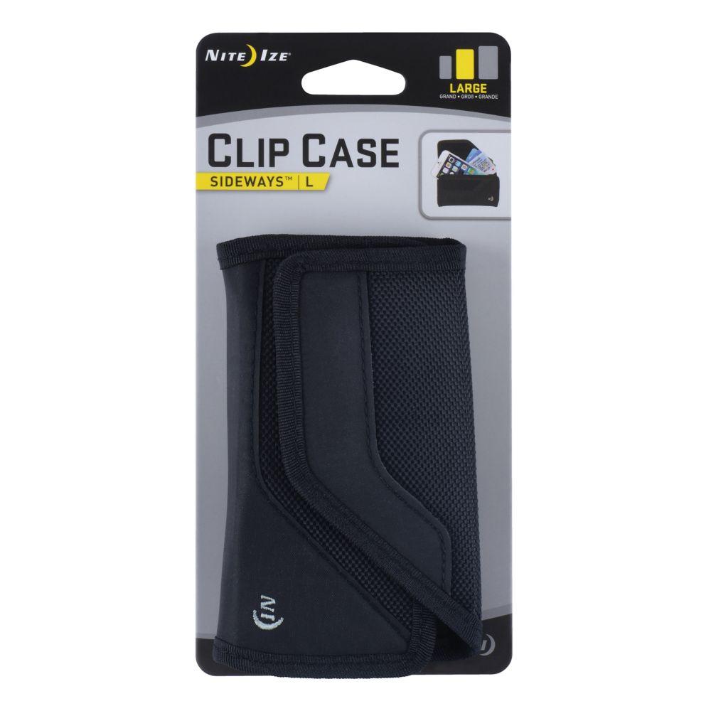 Clip Case Cargo Sideways Large Black