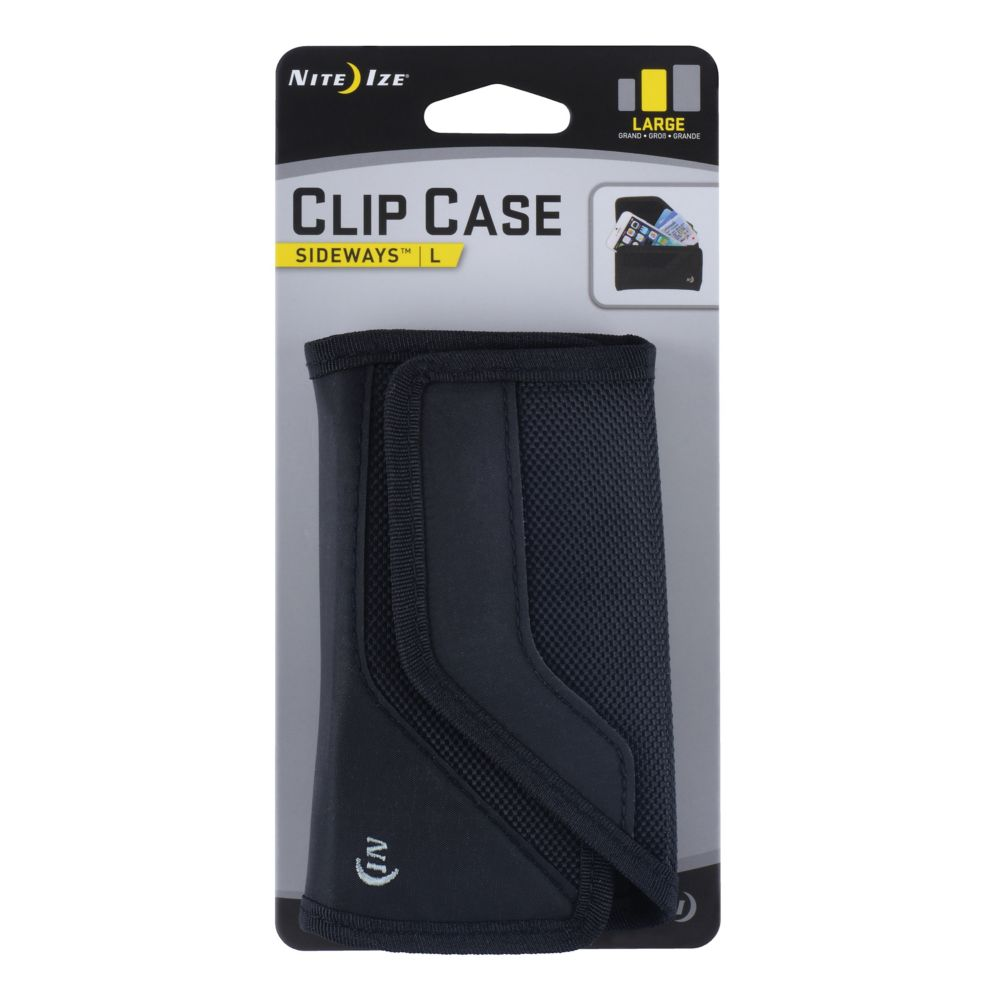 Clip Case Cargo Sideways Large Black