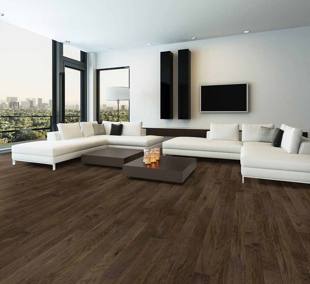 Home Decorators Collection Smoked Hickory 4 7/8-inch W Click Engineered Hardwood Flooring (25.83 sq. ft. / case)
