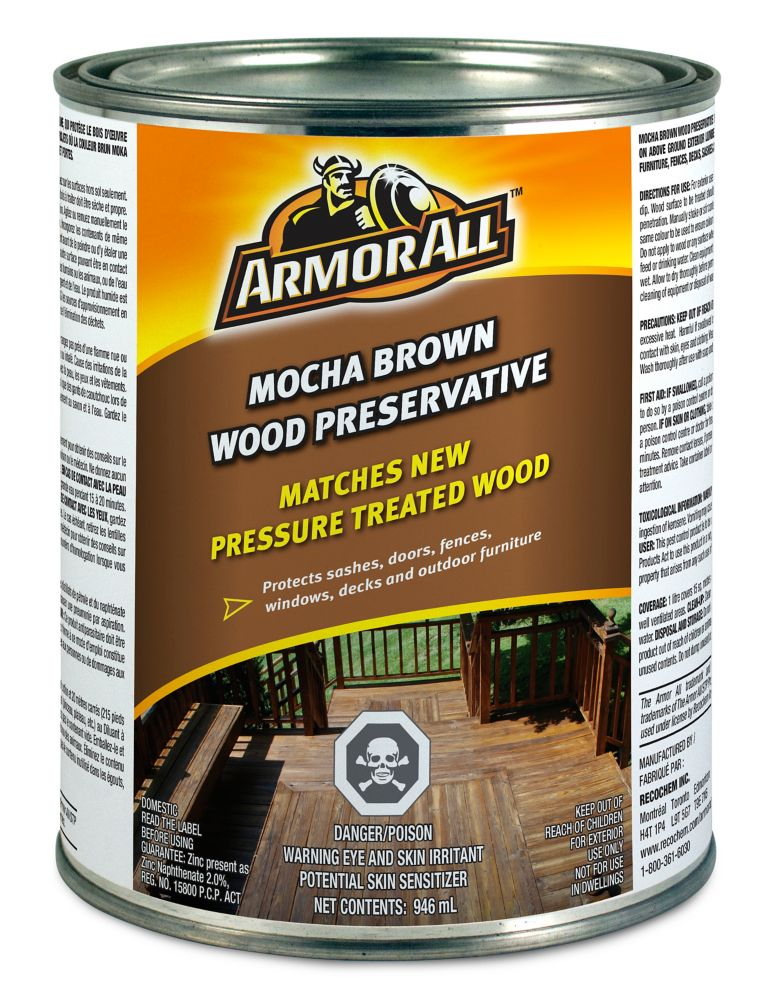 Armor All Armor All Mocha Brown Wood Preservative