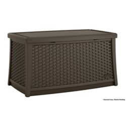 Suncast Patio Coffee Table With Storage The Home Depot Canada