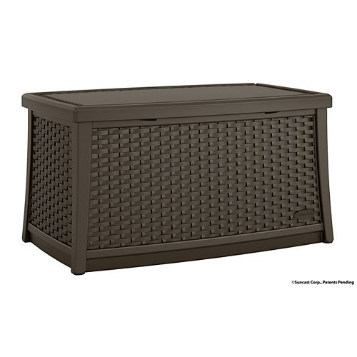 Suncast Patio Coffee Table with Storage
