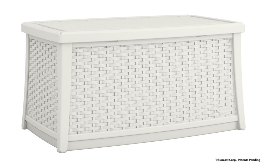 Coffee Table with Storage, white