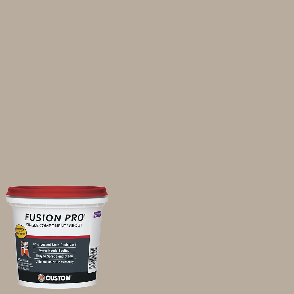 #386 Oyster Gray Fusion Pro 1 qt.