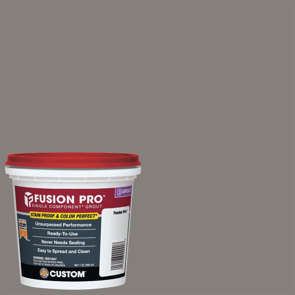 Custom Building Products #335 Winter Gray Fusion Pro 1 qt.