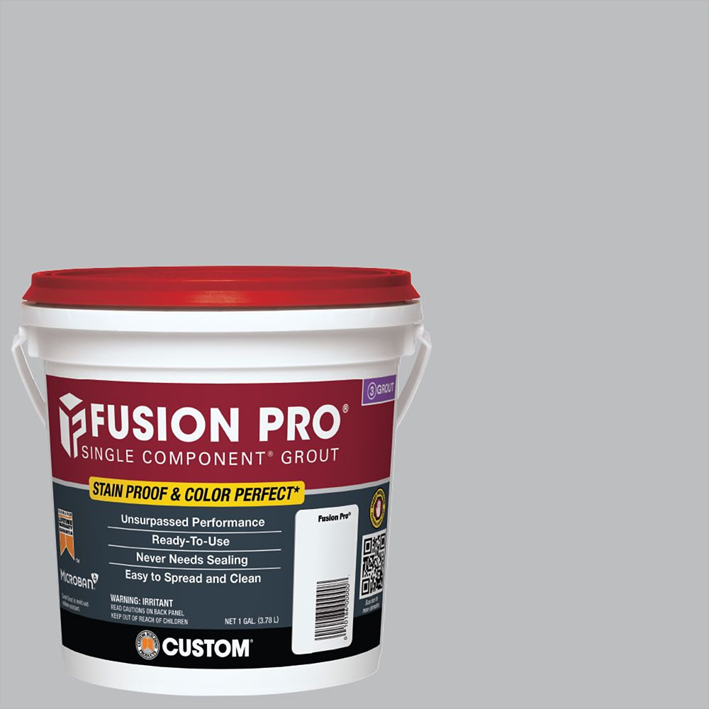 Custom Building Products #115 Platinum Fusion Pro 1Gal