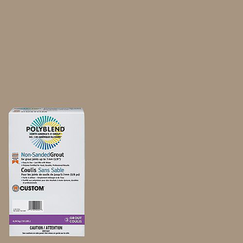 Custom Building Products #145 Light Smoke 10 lb. Non-Sanded Grout