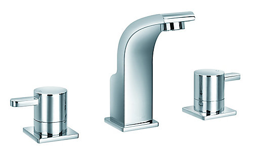 JALO Waven Widespread (8-inch) Bathroom Faucet in Chrome | The Home ...