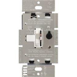 Lutron Gradateur Ariadni de Lutron Unipolaire/3-Voies pour LFC/DEL 250 Watts , Blanc