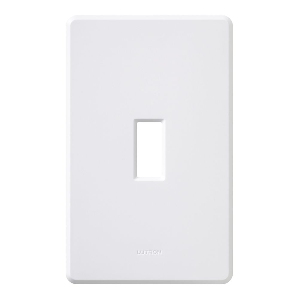 Fassada 1-Gang Wallplate, White
