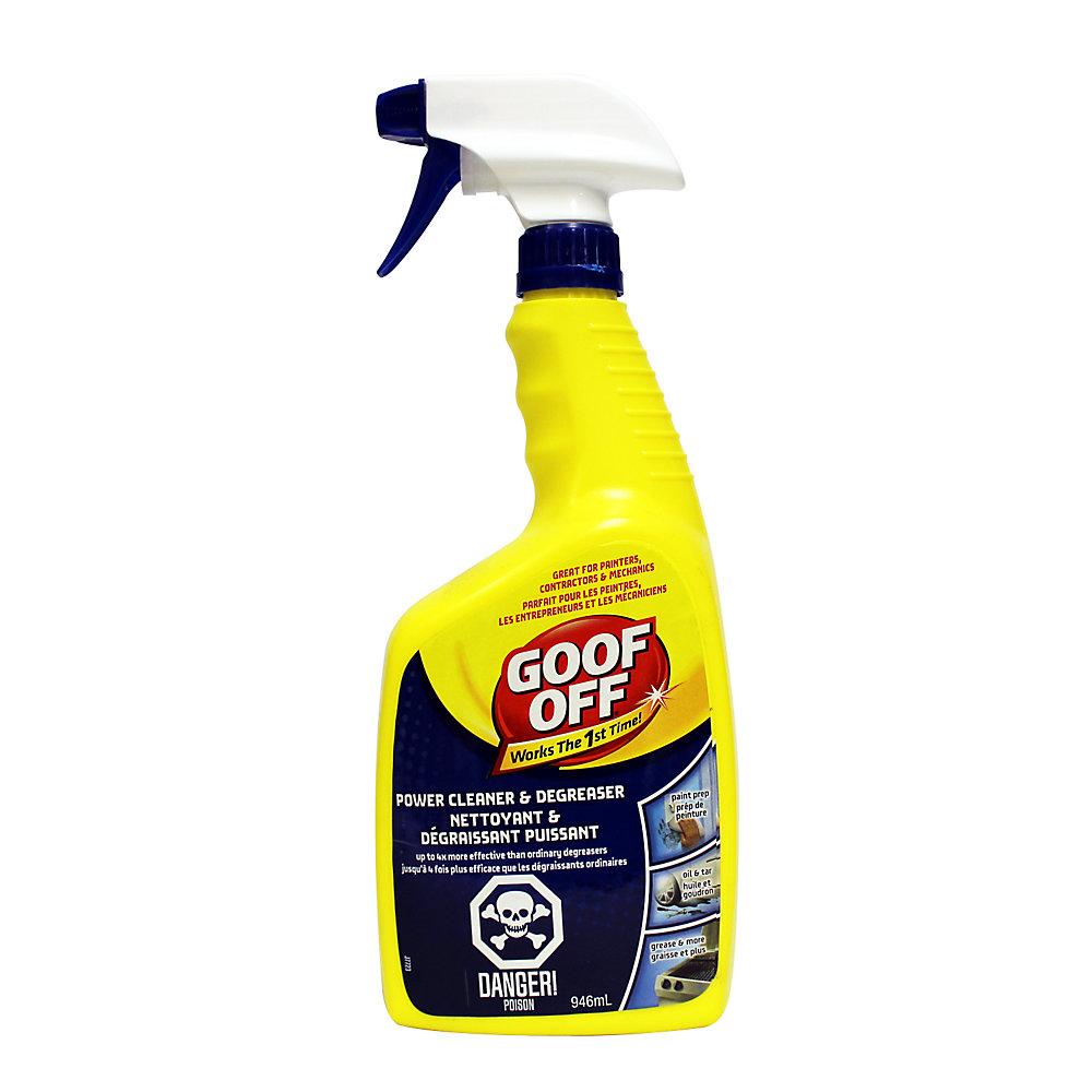 Goof Off Power Cleaner Degreaser Fg686 946ml The Home