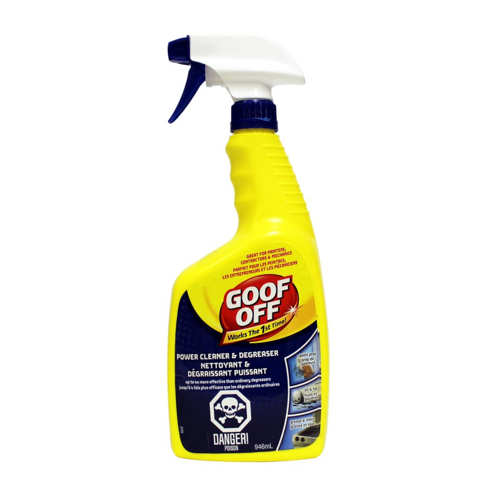 Goof Off Power Cleaner/Degreaser FG686 946ml