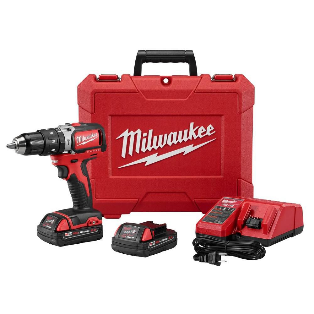 1/2-inch M18� Compact Brushless Hammer Drill/Driver Kit