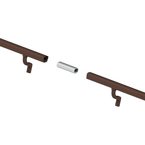Peak Products 8 ft. Aluminum Handrail Kit - Brushed Bronze