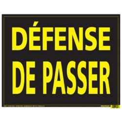 Hillman 10X14 ALUM VIN DEFENSE DE PASSER