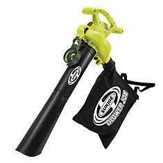 Blower Joe 3-in-1 Electric Leaf Blower, Vacuum, and Mulcher
