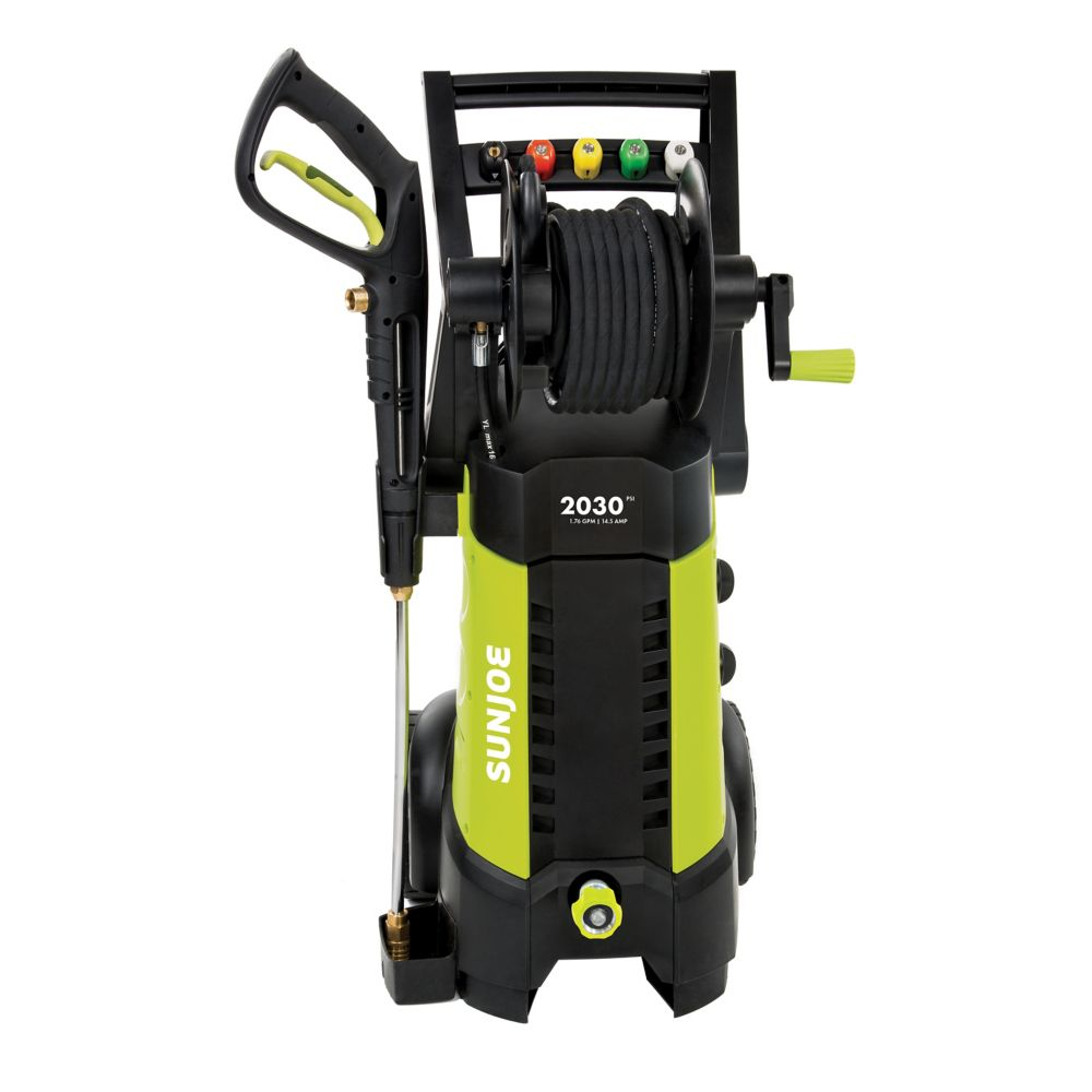 2030-PSI 1.76 GPM Pressure Joe Electric Pressure Washer with Hose Reel