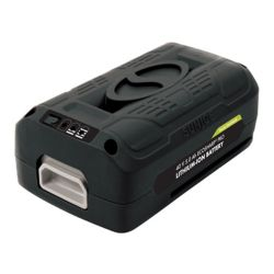 Snow Joe Batterie au lithium-ion PRO 40 V 5,0 Ah EcoSharp<sup>®</sup> iON + Sun Joe