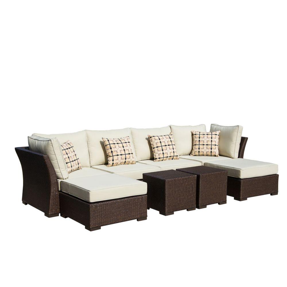 Oreanne Modular 8pc Outdoor  Seating Set