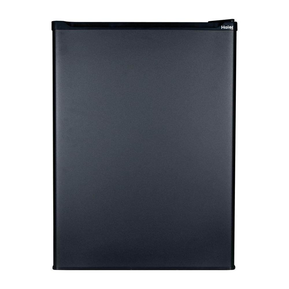 2.7 cu. ft. Refrigerator with Freezer in Black