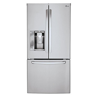 Lg Electronics 242 Cu Ft French Door Refrigerator In Stainless