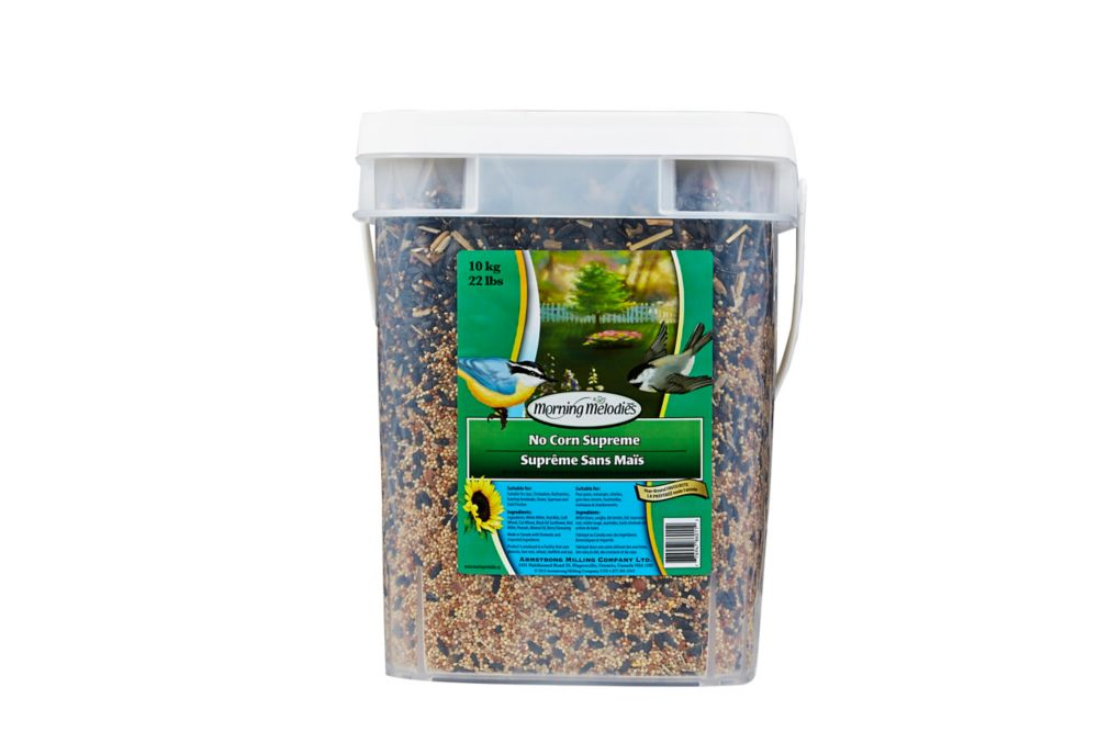 No Corn Supreme Wild Bird Food 10 Kilogram Pail