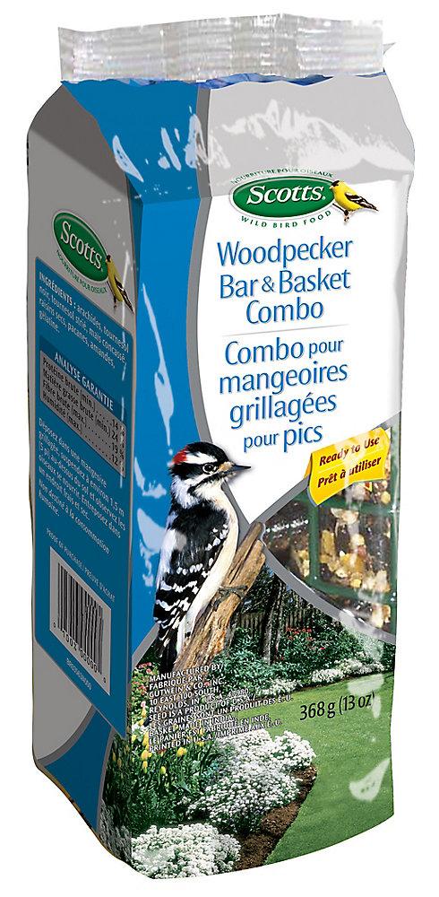 Woodpecker Bar & Basket 330G